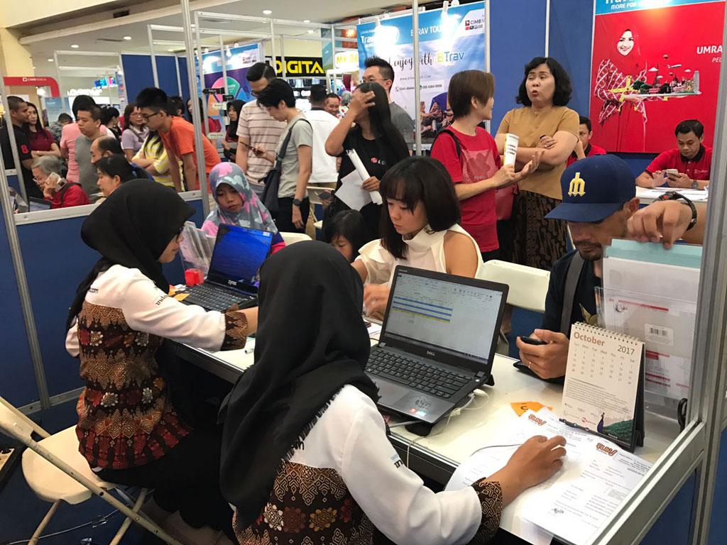 Fun Adventure di Garuda Indonesia Travel Fair (GATF) Malang